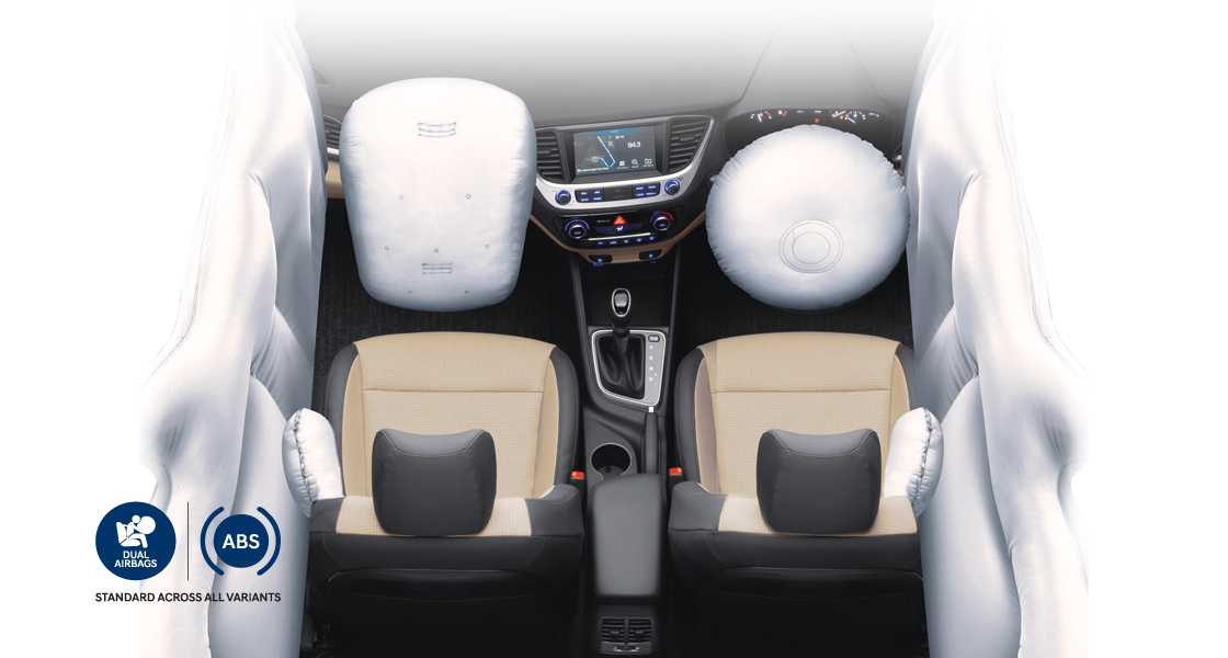 Standardized Dual Front SRS Airbags